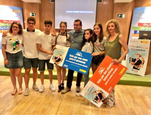 Ganadores del concurso Juegapalabra del Ministerio de Alimentación