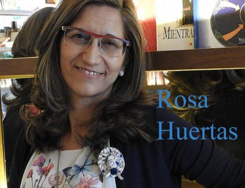 Visita de la escritora Rosa Huertas a nuestro centro